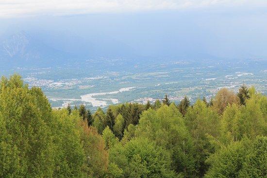 Trichiana, Włochy: vista dalle prealpi
