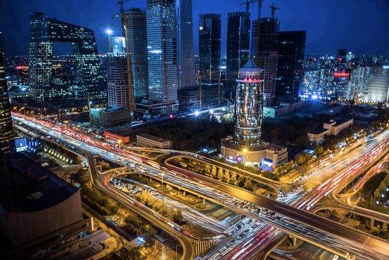 Park Hyatt Beijing: night scene