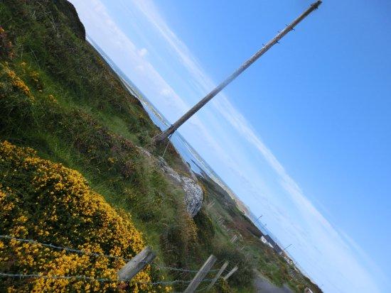 Clifden, Ireland: その向こうは大西洋