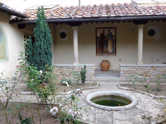 Fiesole, Italia: patio