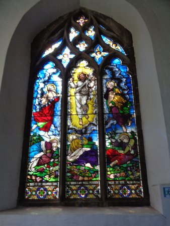 Much Wenlock, UK: Stained Glass