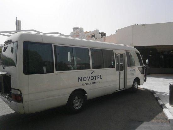 Novotel Cairo Airport: Flughafenbus