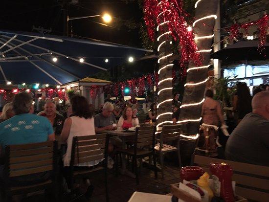 Fogarty's: Espaço externo, no clima de Key West!