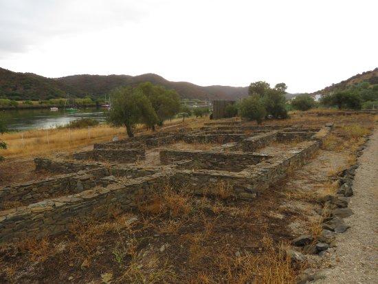 Alcoutim, Πορτογαλία: Grundmauern der Villa