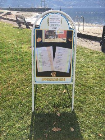 Tenero, Suiza: Cartelloni spiaggia