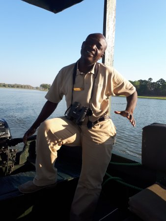Liwonde National Park, Malawi: our 'super duper' guide Matthews