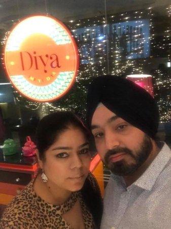 Ecstatic experience at Diya