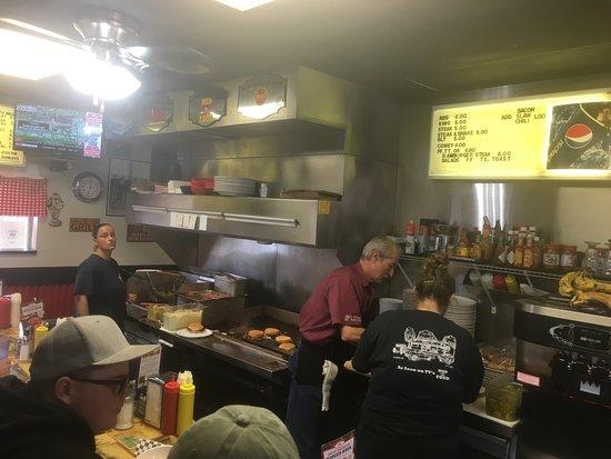 El Reno, OK: Sid's grill.