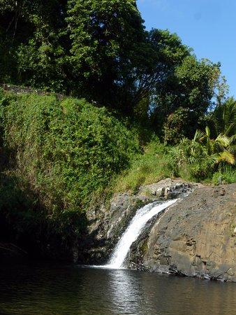 Sainte-Suzanne, Reunion: environnement de la cascade