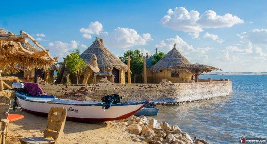 Taghaghien Island Resort Siwa