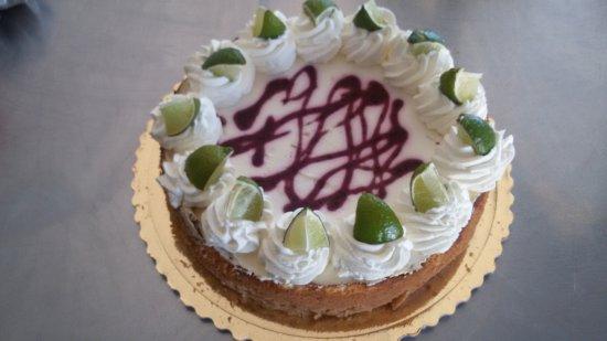 Cereseto, Italia: torta dello chef