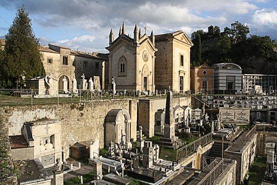 Francavilla di Sicilia, Italia: De aangrenzende begraafplaats