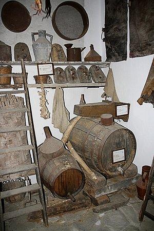 Francavilla di Sicilia, Italia: De wijnmakerij