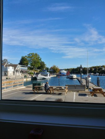 Craigie's Harborview Restaurant: view from the restaurant