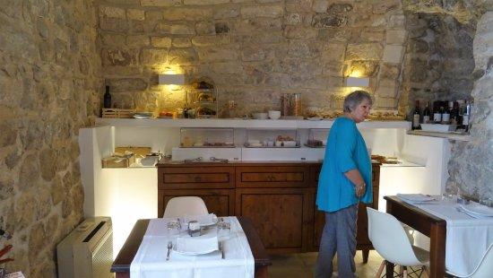 Locanda Don Serafino: la salle du petit-déjeuner