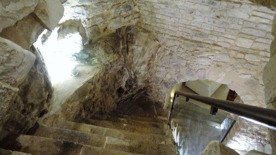 Locanda Don Serafino: l'escalier menant à la réception