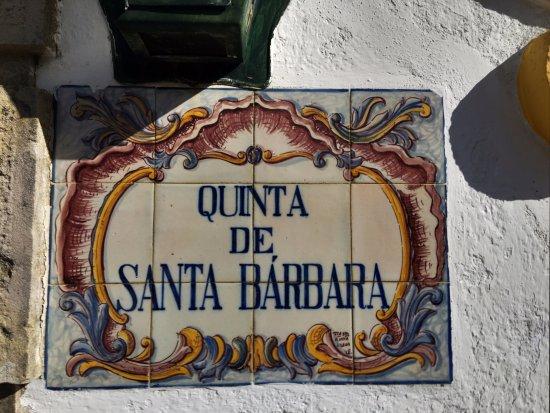 Constancia, Portugal: sign
