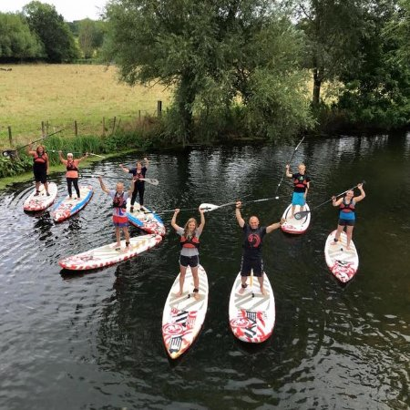 St Osyth, UK: SUP lessons in Dedham too