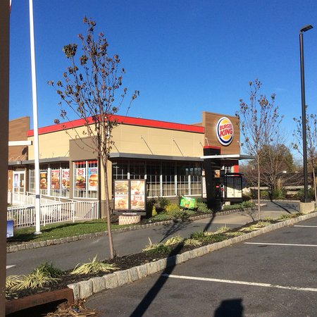 Ramsey, NJ: The outside of Burger King.