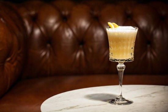 Black Forest: cognac, cacao liqueur, tawny port, lime juice