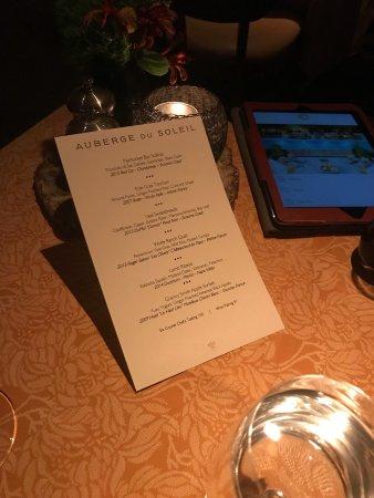 Auberge du Soleil Restaurant: photo0.jpg