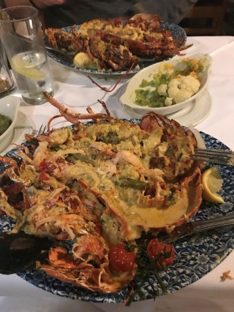 Oliver Saint John Gogarty: Lobster Dinner for 2