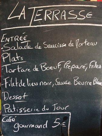 Thouars, Francia: La Terrasse