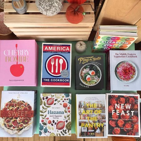 One Mercantile: Curated cookbook selection
