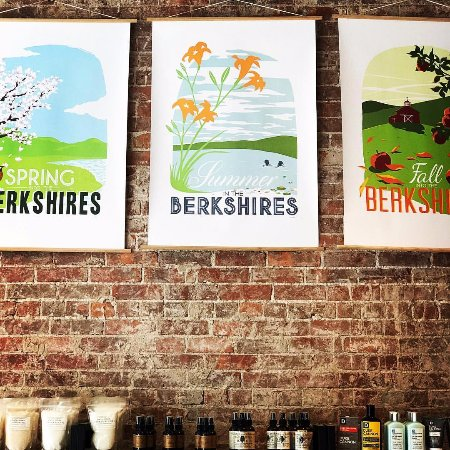 One Mercantile: Locally made posters celebrating the seasons of The Berkshires