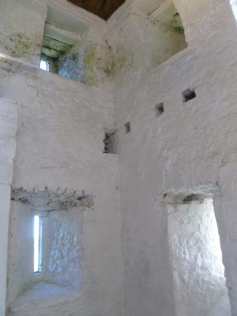 Interior of Aughnanure Castle