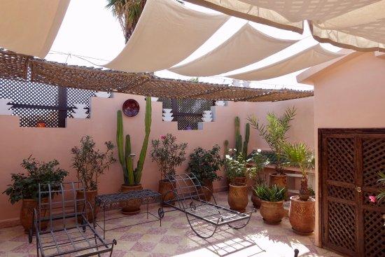 Maison Arabo Andalouse: private terraxe