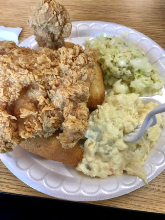 Siler City, Caroline du Nord : Fried Chicken Platter