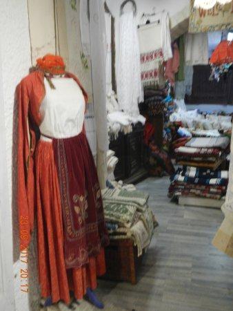 Old Town: Negozio di artigianato locale nel Kastro (telerie ed arredi)