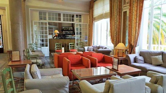 Grand Hotel Les Lecques : le salon