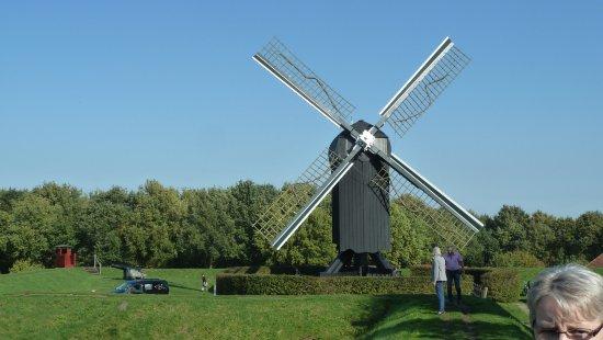 Bourtange, Países Baixos: Die Windmühle