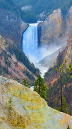 Wapiti, WY: Lower Falls
