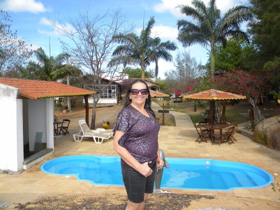 Cerro Cora, RN: Pequena piscina para o lazer