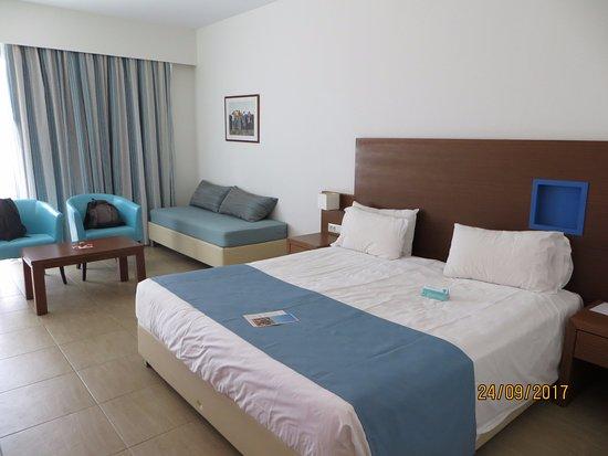 chambre standard photo de lti asterias beach resort afandou tripadvisor. Black Bedroom Furniture Sets. Home Design Ideas
