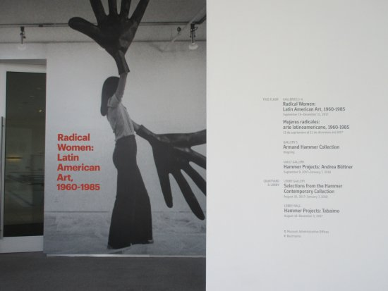 Hammer Museum: Radical Women is the new temporary exhibit