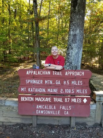 Amicalola Falls State Park: Gift shop, trail, lodge, etc. Oct. 27, 2017