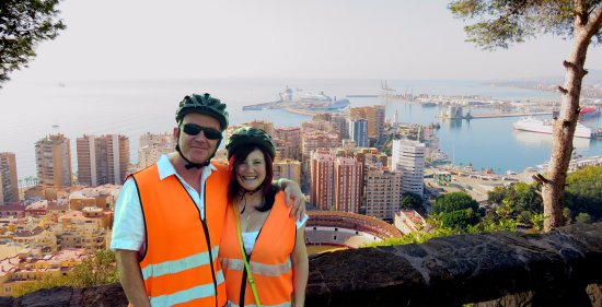 Segway Malaga Tours: Viewpoint during our 2 hour Segway Tour.