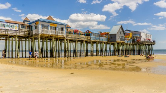 Old Orchard Beach Pier: Juste pour la photo