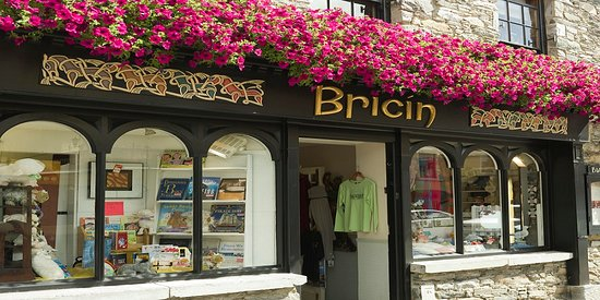 Bricin Restaurant: Great shopping in our downstairs craft shop