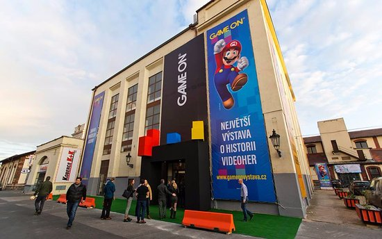 GAME ON exhibition Prague