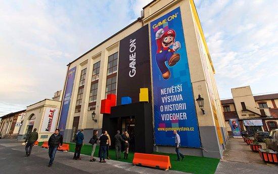 GAME ON výstava Praha