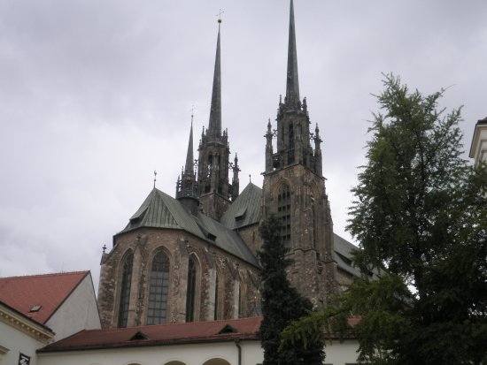 Брно, Чехия: Katedrála sv. Petra a Pavla