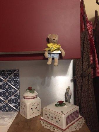 Villa Palma Bed & Breakfast : I have the same teddy bear !!