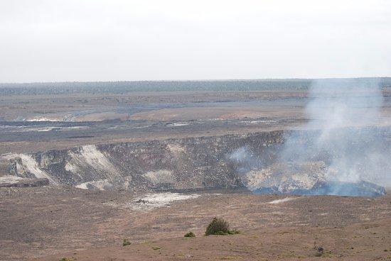 Volcano House: The caldera