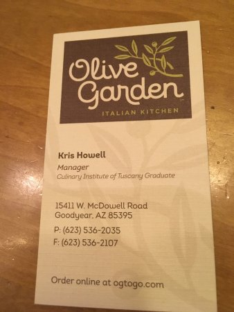 olive garden goodyear menu prices restaurant reviews tripadvisor - Olive Garden Menu And Prices
