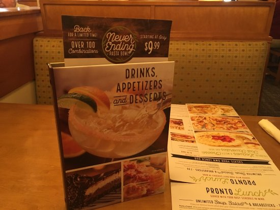 Goodyear, AZ: Olive Garden: always s great choice!